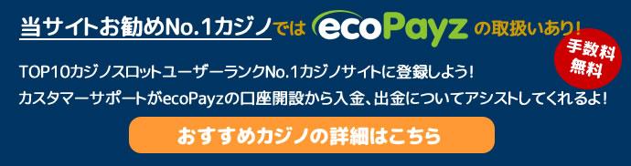 エコペイズネットカジノお勧めNo.1