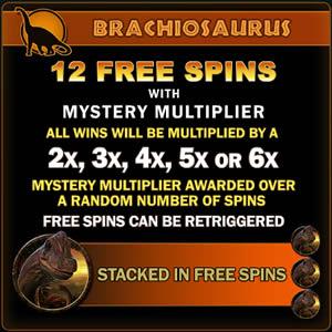 ジュラシックパーク ブラキオザウルス フリースピン