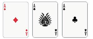 ブラックジャックサイドベットスリーカード