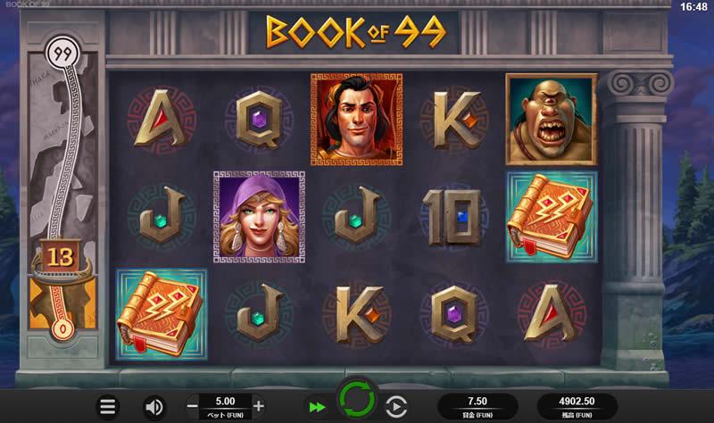 book of 99 slots