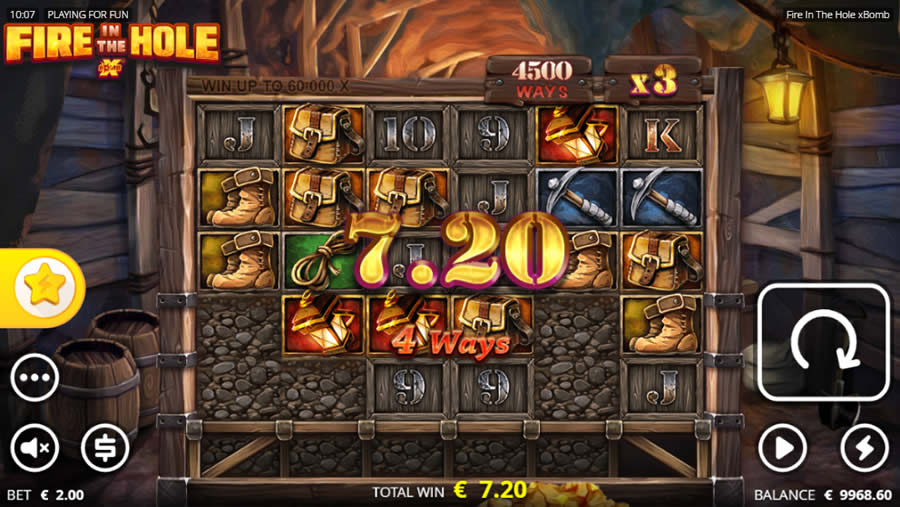 fire in the hole slots ノーリミットシティ